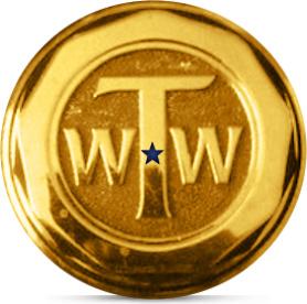 gold wheel center cap