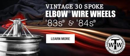30 spoke wire wheels