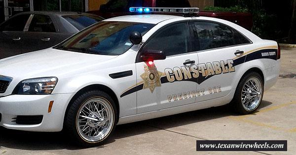 Texan Wire Wheels Hels Bridge Police & Community Gap