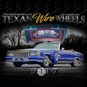 Texan Wire Wheels 2017 Wall Calendar