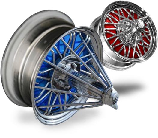 30 Spoke Wire Wheels for Sale