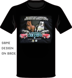 Bully Dog Car Show T-Shirt for Men