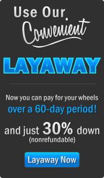Layaway Your 30 Spoke Wire Wheels Today!