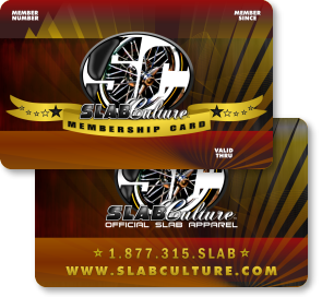 Slab Culture Membership Card