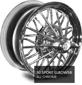 chrome 30 spoke wire wheels