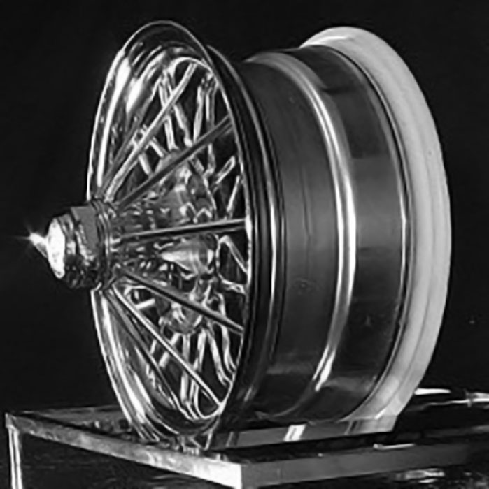 15 inch 84s Standard 30 Spoke Elbow Wire Wheels