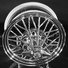 15 Inch 84s Super Poke Texan Wire Wheels