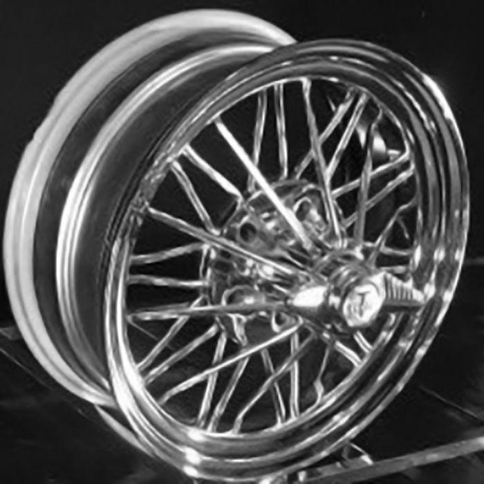 """17"""" 83s® Standard Wire Wheels"""
