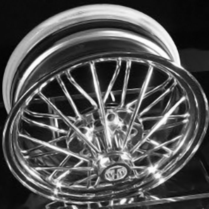 "17"" 84s® Standard 30 Spoke Wire Wheels"