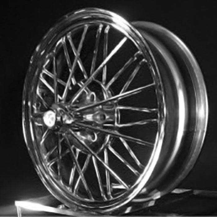 22 inch 84s® Poke® Standard Wire Wheels