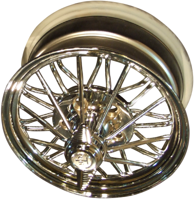 22 inch standard 30 spoke wire wheel