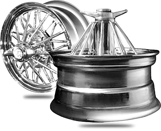 Chrome Spoke Wheels