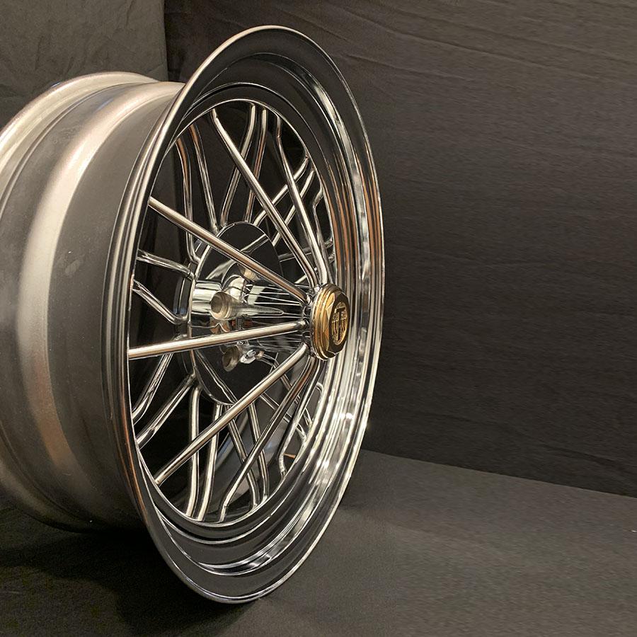 22 Inch Rwd Standard Poke Texan Wire Wheels