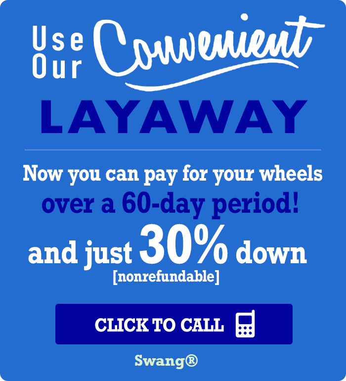 Texan Wire Wheels™ Layaway