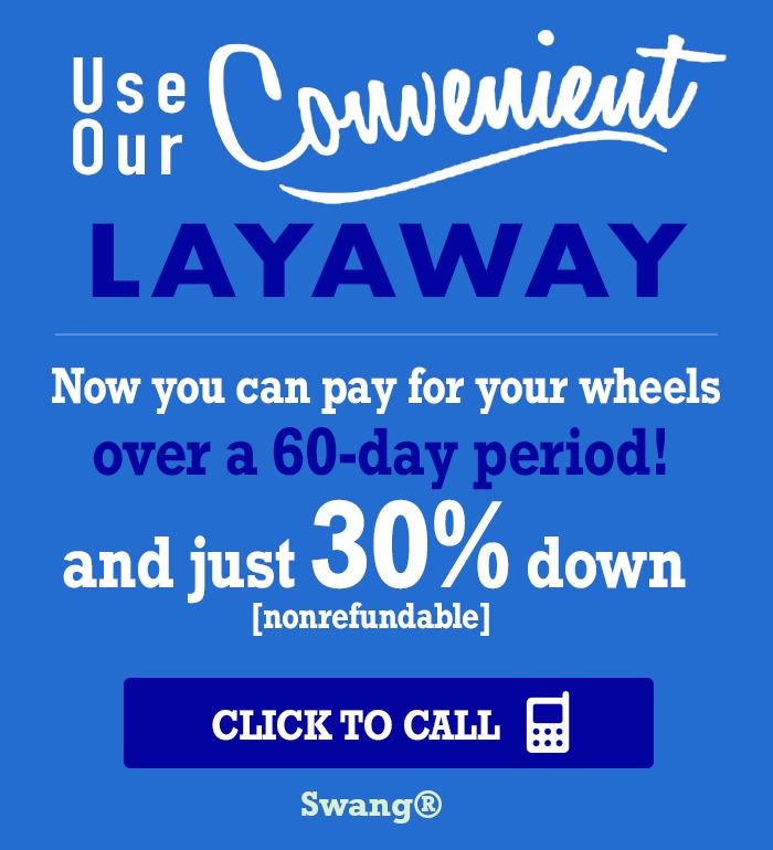 Texan Wire Wheels™ Layaway