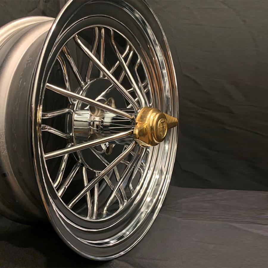 20 Inch Rwd Standard Poke Texan Wire Wheels
